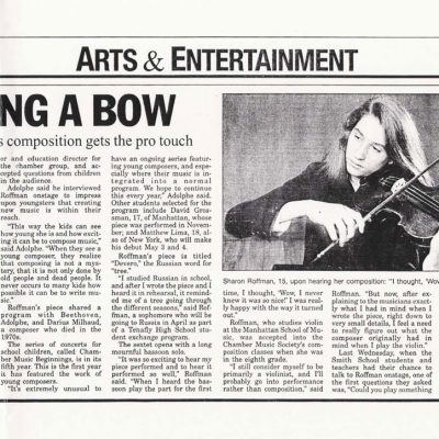 Bergen Record, March 10, 1994