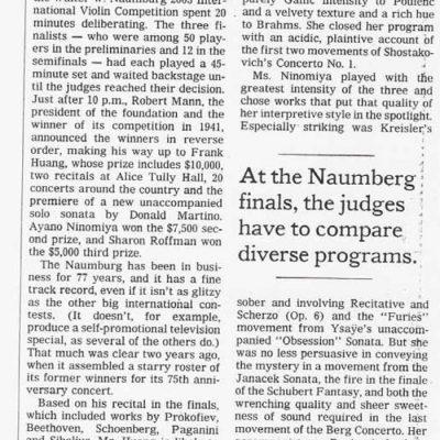 NY times, June 20, 2003