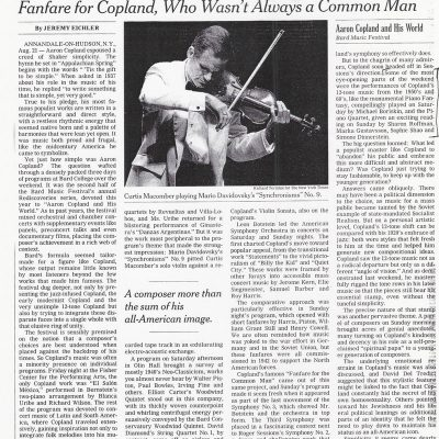 NY Times, August 24, 2005